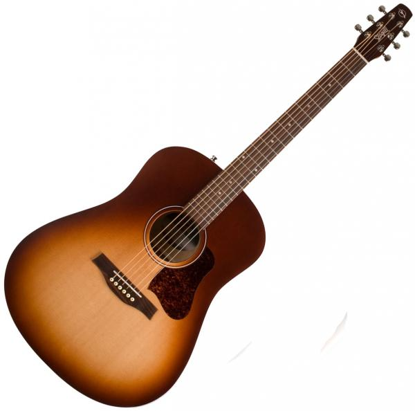Guitare folk & electro Seagull Entourage +Bag - Autumn burst