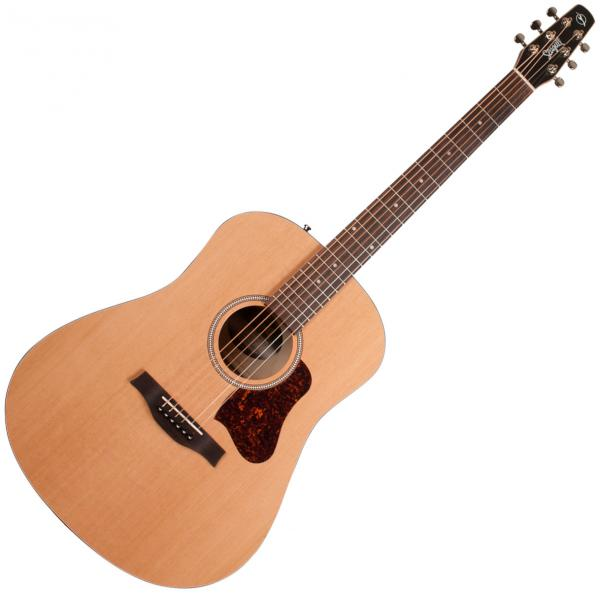 Guitare folk & electro Seagull S6 Original Slim 2018 +Bag - Natural