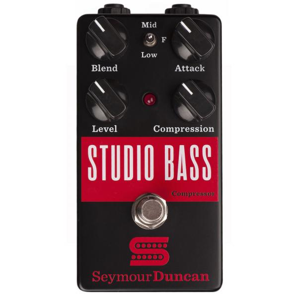 Pédale compression / sustain / noise gate Seymour duncan Studio Bass Compressor