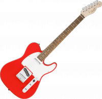 Guitare électrique solid body Squier Affinity Series Telecaster (LAU) - Race red