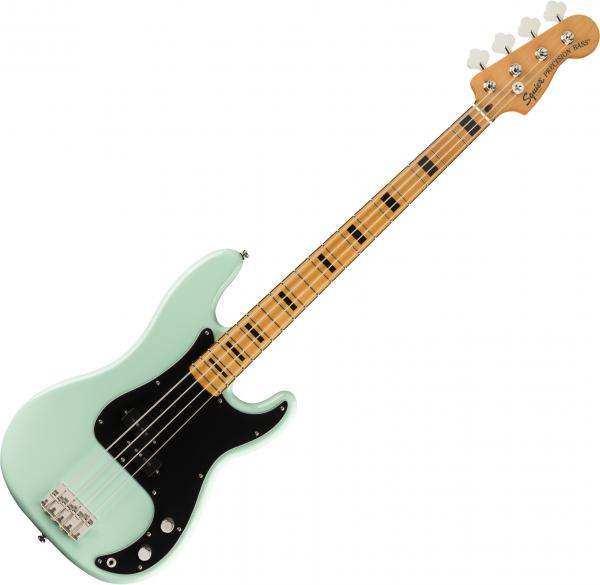 Basse électrique solid body Squier Classic Vibe '70s Precision Bass FSR LTD (MN) - Surf green
