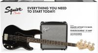 Affinity Series Precision Bass PJ Pack 2018 UK - Black