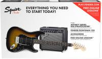 Affinity Series Stratocaster HSS Pack 2018 - brown sunburst