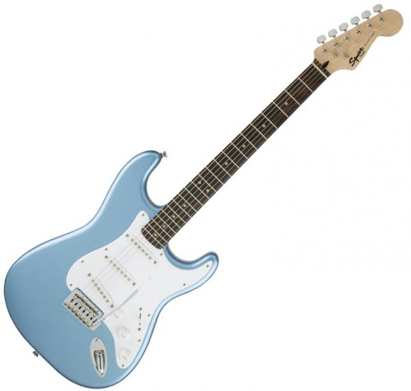 Guitare électrique solid body Squier Bullet Stratocaster FSR Ltd (LAU) - Lake placid blue