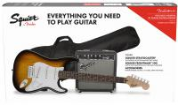 Stratocaster Pack 2018 - brown sunburst
