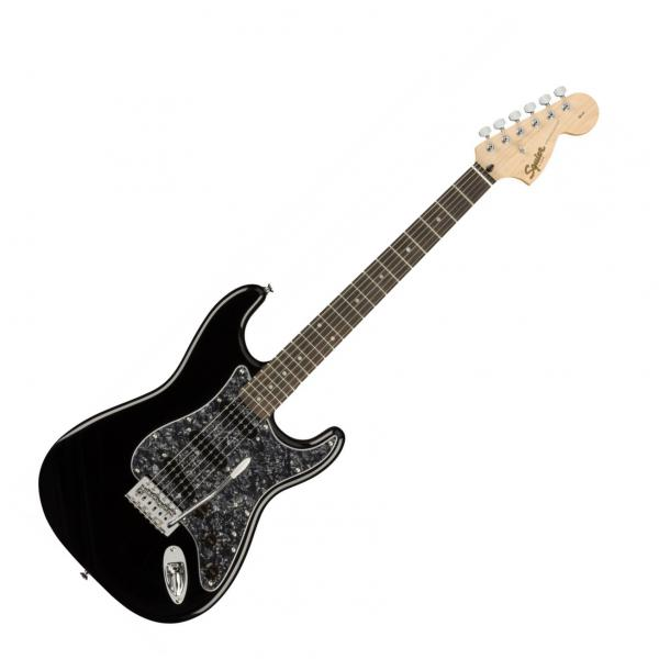 Guitare électrique solid body Squier STRATOCASTER AFFINITY FSR LIMITED - black