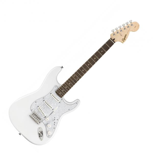 Guitare électrique solid body Squier STRATOCASTER AFFINITY FSR LIMITED - arctic white