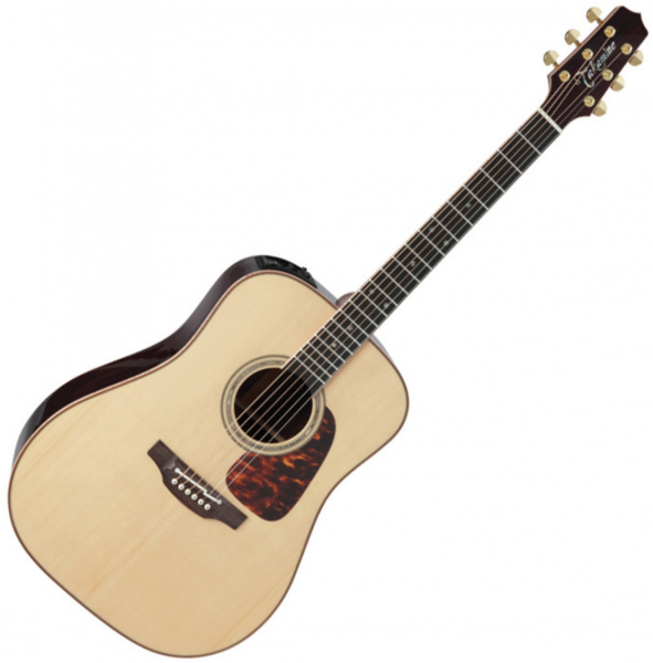 Guitare folk & electro Takamine P7D Pro Series Japan - Naturel