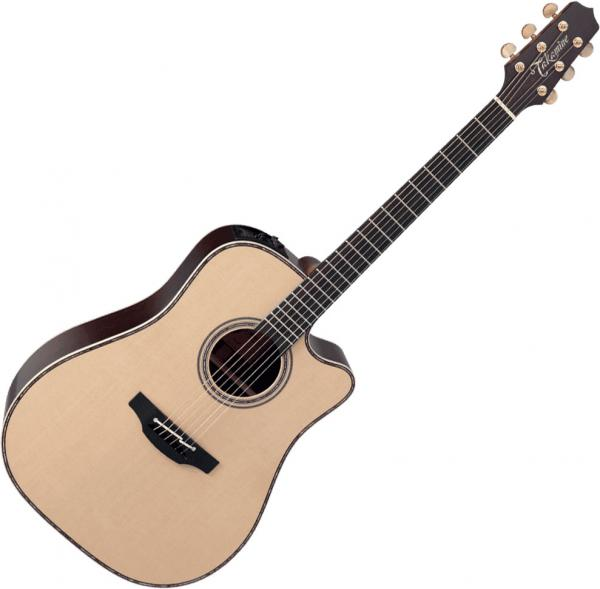 Guitare folk & electro Takamine TN18C - Natural