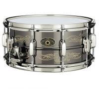 Caisse claire Tama KA1465 Signature Kenny Aronoff Trackmaster 14x6.5 Cuivre Grave  - Silver