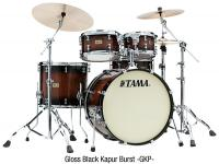 S.L.P. Dynamic Kapur Kit - 4 fûts - Gloss black kapur burst