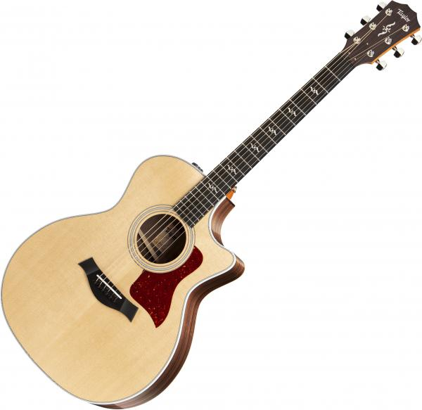 Guitare folk & electro Taylor 414ce-R V-Class 2019 - Natural
