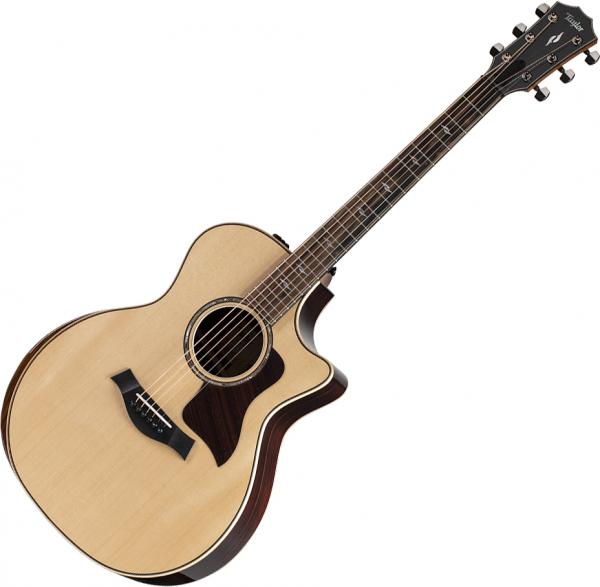 Guitare folk & electro Taylor 814ce V-Class Bracing 2021 - Natural