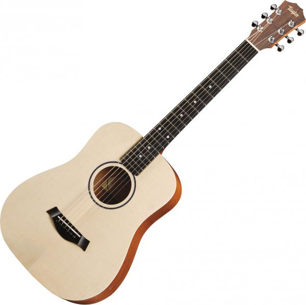 Guitare acoustique voyage Taylor Baby Spruce Walnut BT1E Dreadnought Mini - Naturel