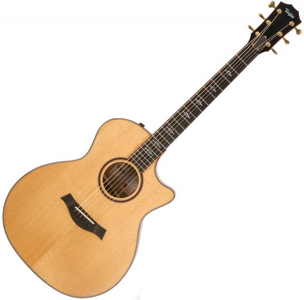 Guitare folk & electro Taylor Custom GA-ce Koa V-Class 2019 - Natural