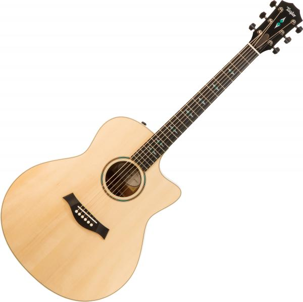 Guitare folk & electro Taylor Custom GO-ce #1203040117 - Natural