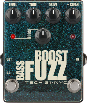 tech 21 bass boost fuzz p dale overdrive distortion fuzz. Black Bedroom Furniture Sets. Home Design Ideas