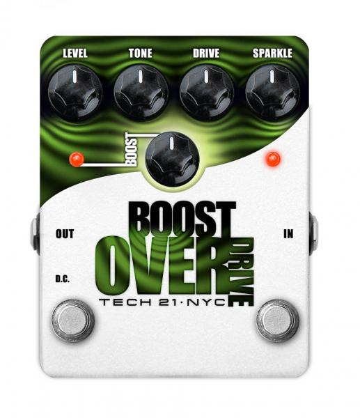 Pédale overdrive / distortion / fuzz Tech 21 Boost Overdrive