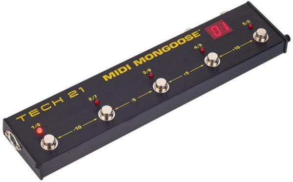 Pedalier midi Tech 21 Midi Mongoose