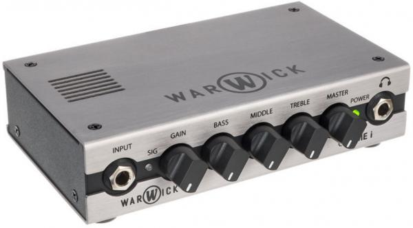 Tête ampli basse Warwick Gnome i Pocket Bass Amp Head with USB