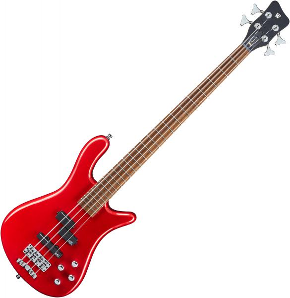 Basse électrique solid body Warwick Rockbass Streamer LX 4 String +Bag - Red metallic