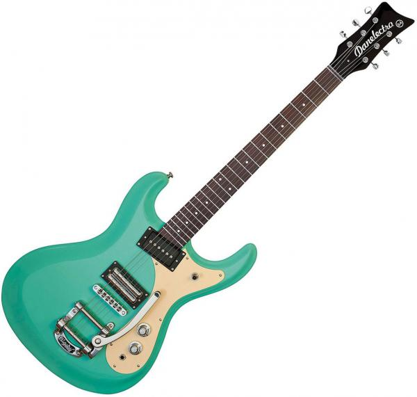 Guitare électrique solid body Danelectro The 64 Guitar - Dark aqua