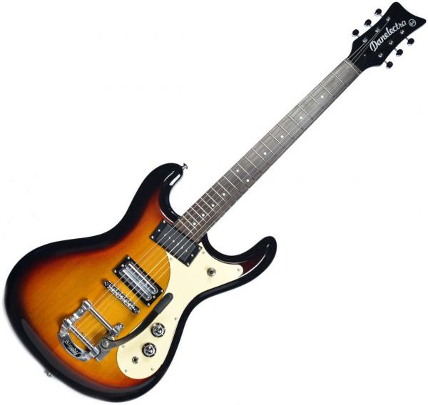 Guitare électrique solid body Danelectro The 64 Guitar - Sunburst