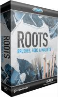 Banque de sons instrument virtuel Toontrack Roots Brushes Rods Mallets SDX