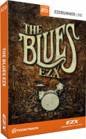 Banque de sons instrument virtuel Toontrack The Blues EZX