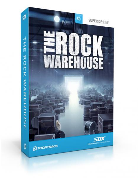 Instrument virtuel Toontrack The Rock Warehouse SDX