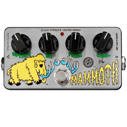Pédale overdrive / distortion / fuzz Zvex Woolly Mammoth Vexter