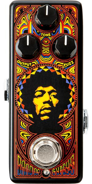 Pédale overdrive / distortion / fuzz Jim dunlop Authentic Hendrix '69 Psych Series Band Of Gypsys Fuzz JHW4