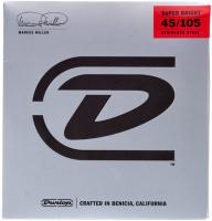 Cordes basse électrique Jim dunlop Marcus Miller Super Bright Bass Strings 45-105 - Jeu de cordes