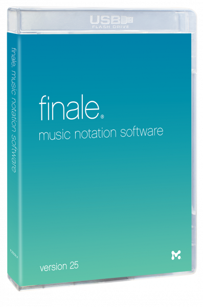Editeur de partitions Make music Finale 25 5 Postes - Version Française
