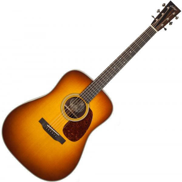 Guitare folk & electro Collings D2H Custom (#27245) - Sunburst