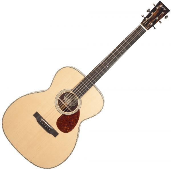 Guitare folk & electro Collings OM2H Custom (#27261) - Natural