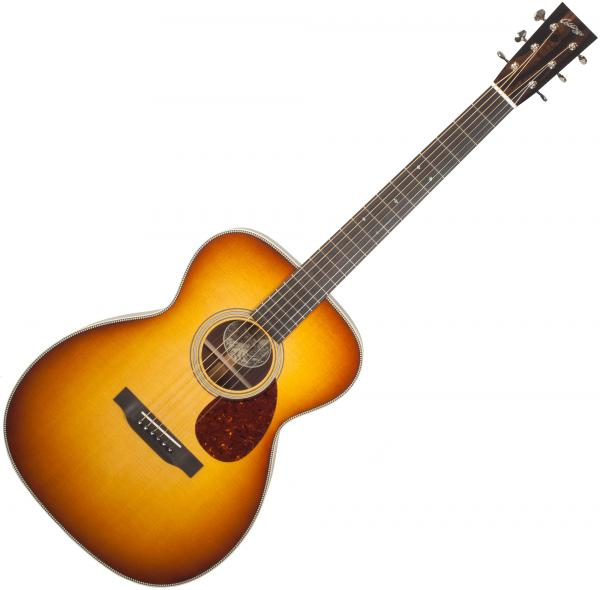 Guitare folk & electro Collings OM2H Custom (#27352) - Sunburst
