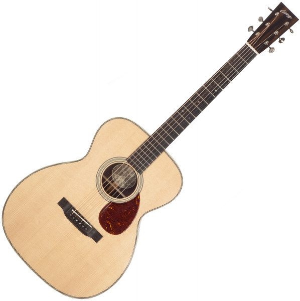 Guitare folk & electro Collings OM2H Custom (#27016) - Natural