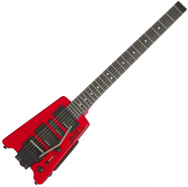 Guitare électrique voyage Steinberger GT-PRO Deluxe Outfit +Bag - Hot rod red