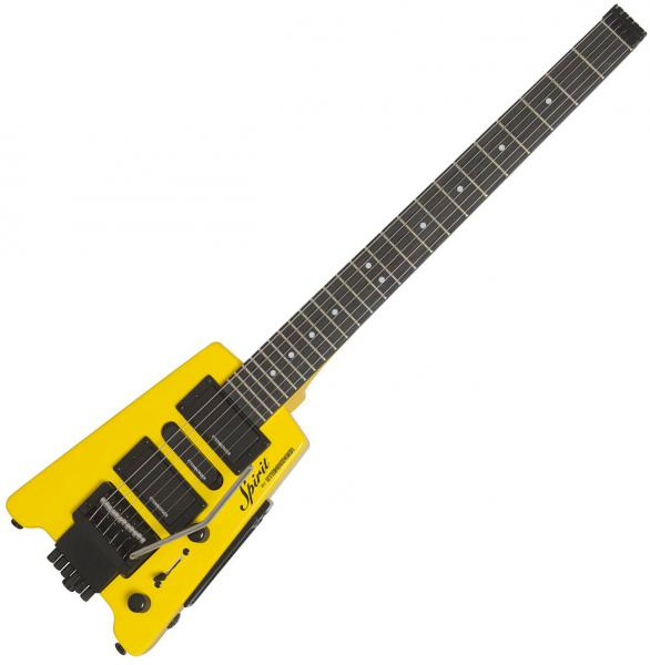 Guitare électrique voyage Steinberger GT-PRO Deluxe Outfit +Bag - Hot rod yellow