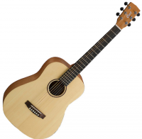 Guitare folk voyage Cort Earth Mini - Natural open pore