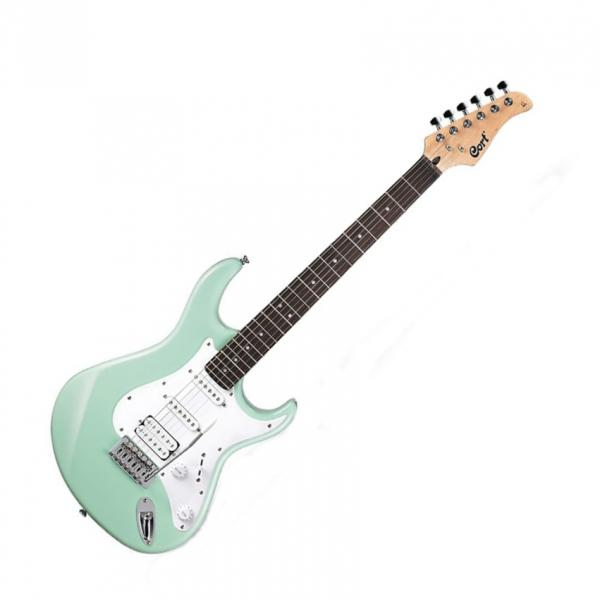 Guitare électrique solid body Cort G110 CGN - Carribean green