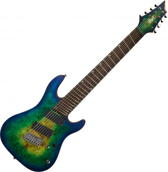 Guitare électrique multi-scale Cort KX508MS - Mariana blue burst