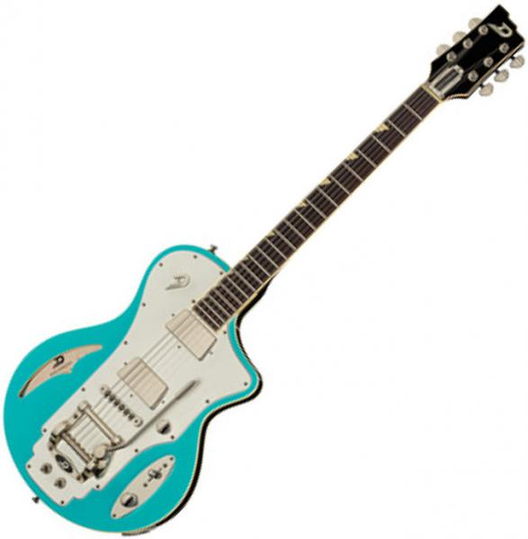 Guitare électrique solid body Duesenberg Julia - Narvik blue