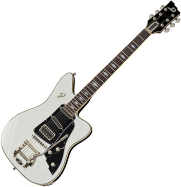 Guitare électrique solid body Duesenberg Paloma - White