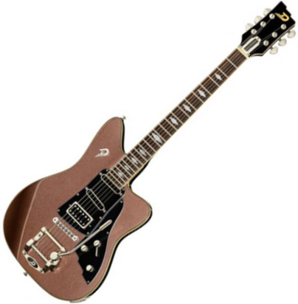 Guitare électrique solid body Duesenberg Paloma - Catalina sunset rose