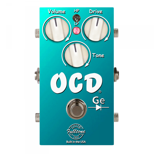 Pédale overdrive / distortion / fuzz Fulltone Custom Shop CS-OCD-GE