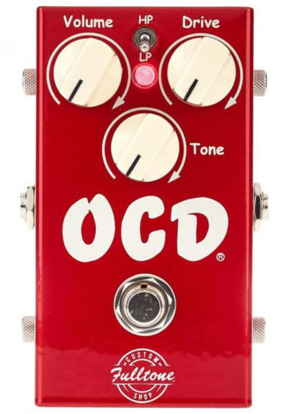 Pédale overdrive / distortion / fuzz Fulltone Standard OCD V2 Overdrive Ltd - Candy Apple Red