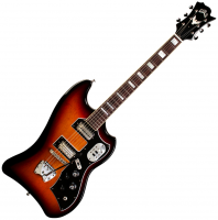 Guitare électrique solid body Guild S-200 T-Bird - Antique burst