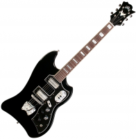 Guitare électrique solid body Guild S-200 T-Bird - Noir